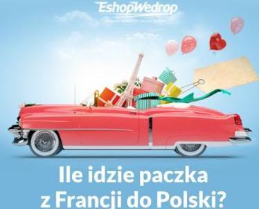 Ile idzie paczka z Francji do Polski?