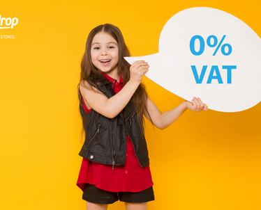 0% VAT na towary dla dzieci w Wielkiej Brytanii