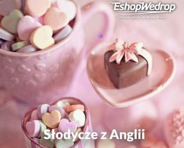 Słodycze z Anglii