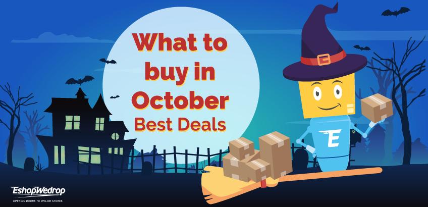 Co kupić w październiku - Najlepsze oferty