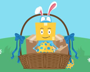 Wielkanocne polowanie na jajka!