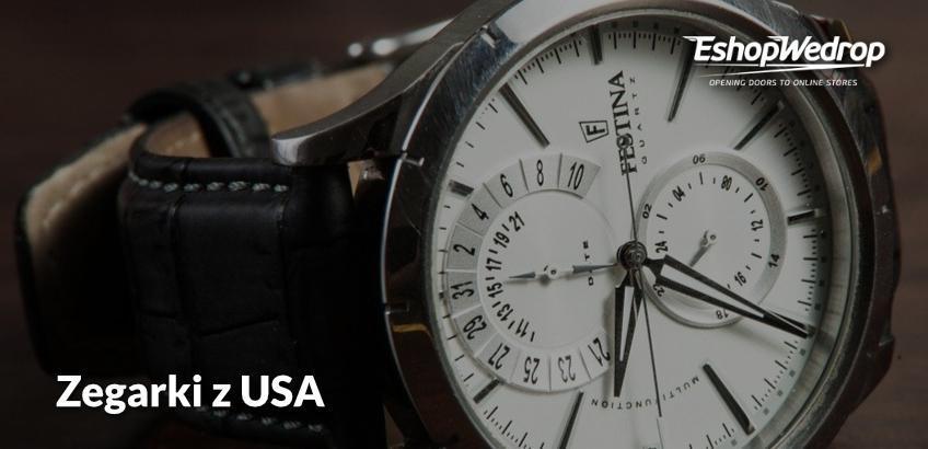 Zegarki z USA