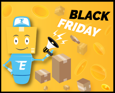 Czarny piątek – zamów dostawę swojej paczki za darmo