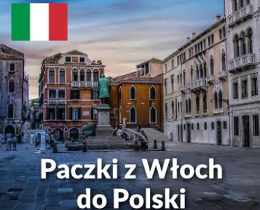 Paczki z Włoch do Polski