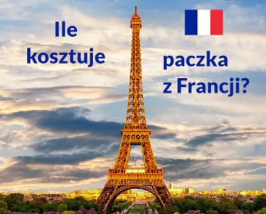 Ile kosztuje paczka z Francji?