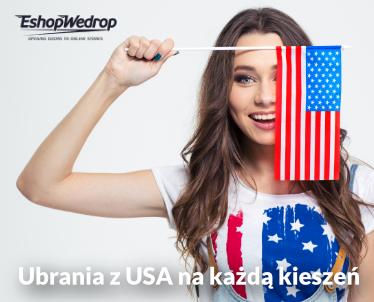 Ubrania z USA na każdą kieszeń!