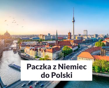 Paczka do Polski z Niemiec